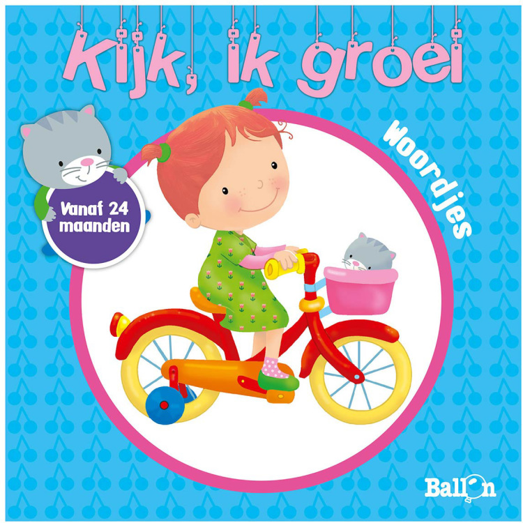 Image of Kijk, Ik Groei - Woordjes Vanaf 24 Maanden