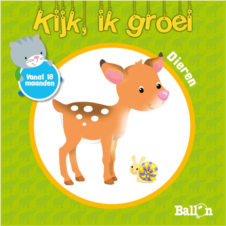 Image of Kijk, Ik Groei - Dieren Vanaf 18 Maanden
