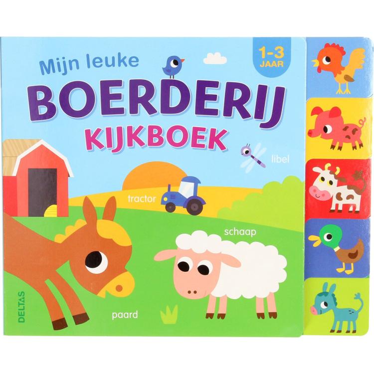 Image of Mijn Leuke Boerderij Kijkboek (1-3 Jaar)