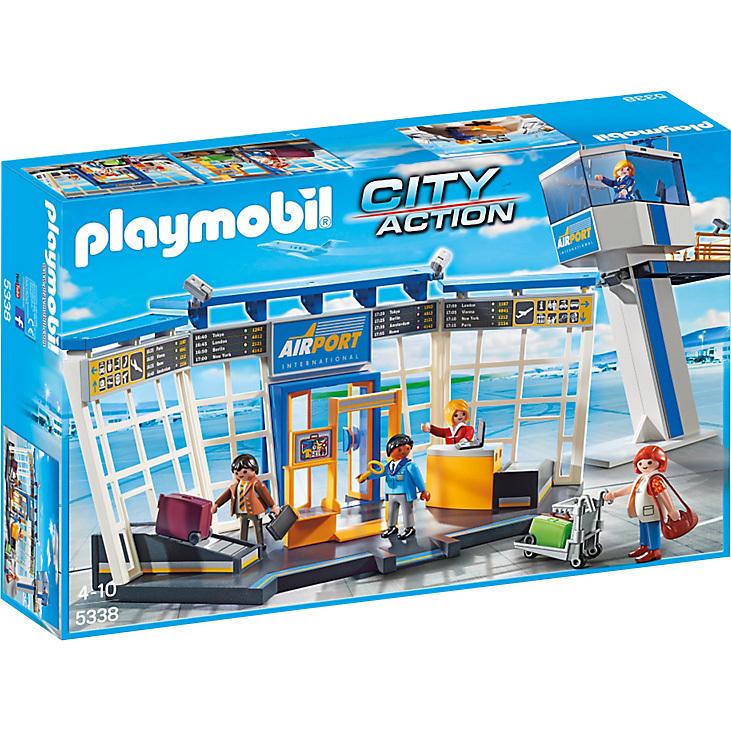 Playmobil City Action Luchthaven met verkeerstoren