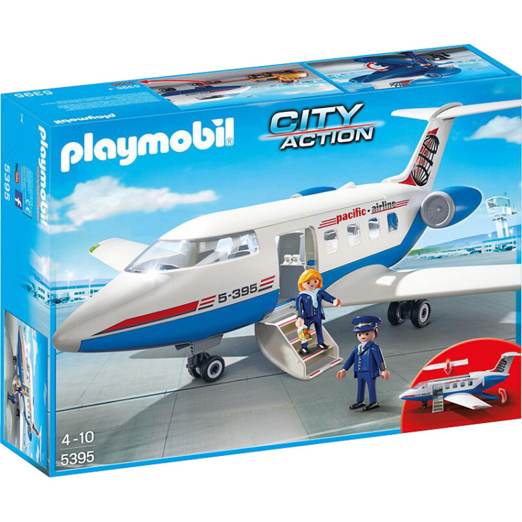 Playmobil City Action Chartervliegtuig