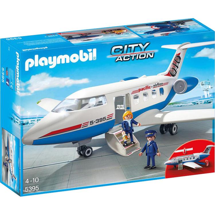 Playmobil City Action Chartervliegtuig