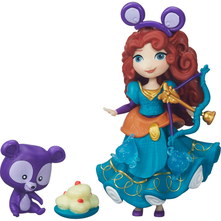 Mini Princess En Vriendje: Merida