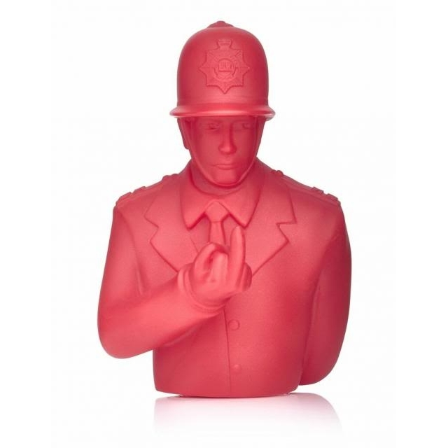 Image of Rude Copper - 4 Inch Red