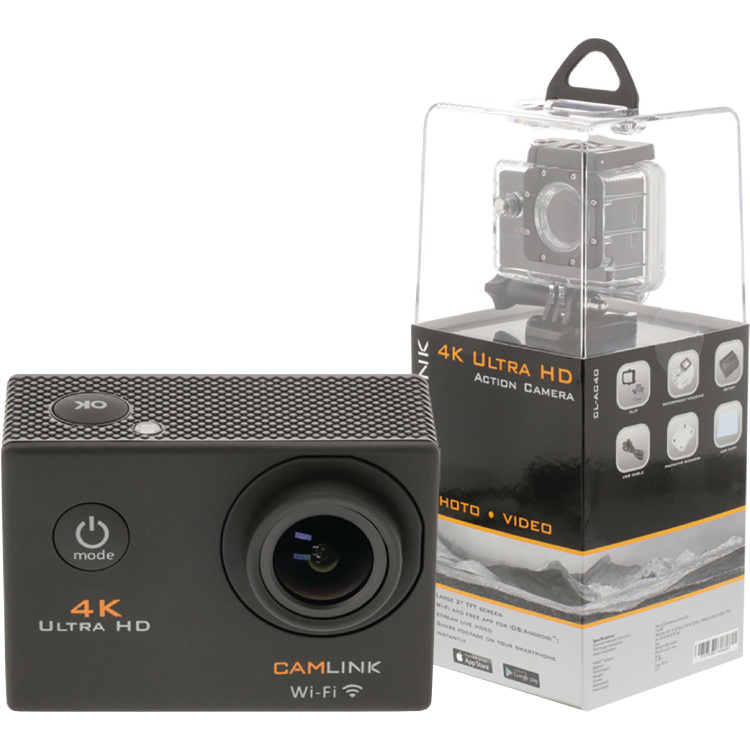 Image of 4K Ultra HD Action Camera Wi-Fi