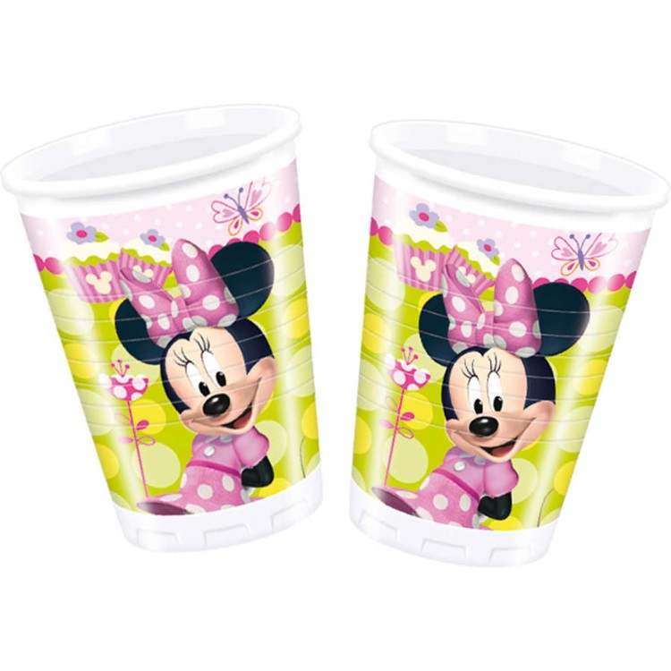 Image of 8 Becher Minnie Mouse 200ml