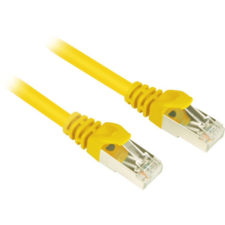 Patchkabel RJ45 Cat.6 S/FTP 0,5m