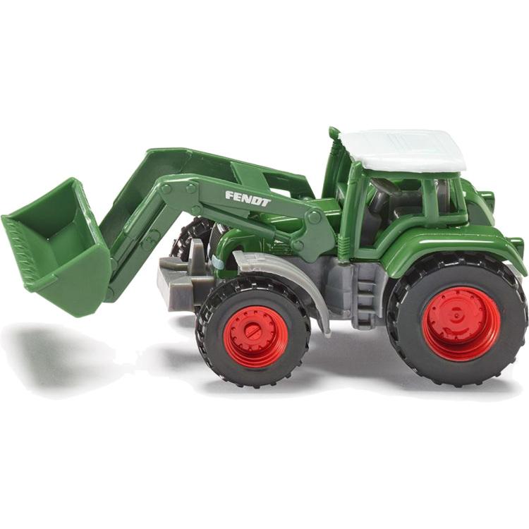 Siku Fendt tractor met voorlader