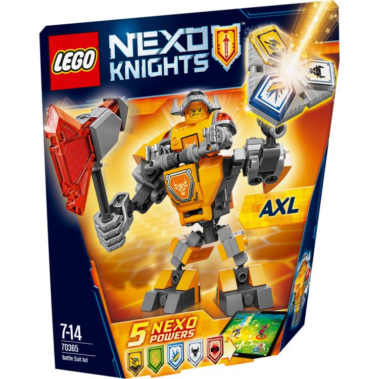 Gevechtsuitrusting Axl Lego (70365)
