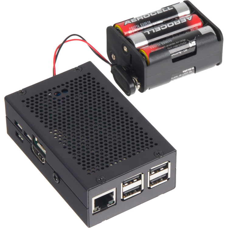 Productafbeelding voor 'Raspberry Pi behuizing rb-strompi2-case'