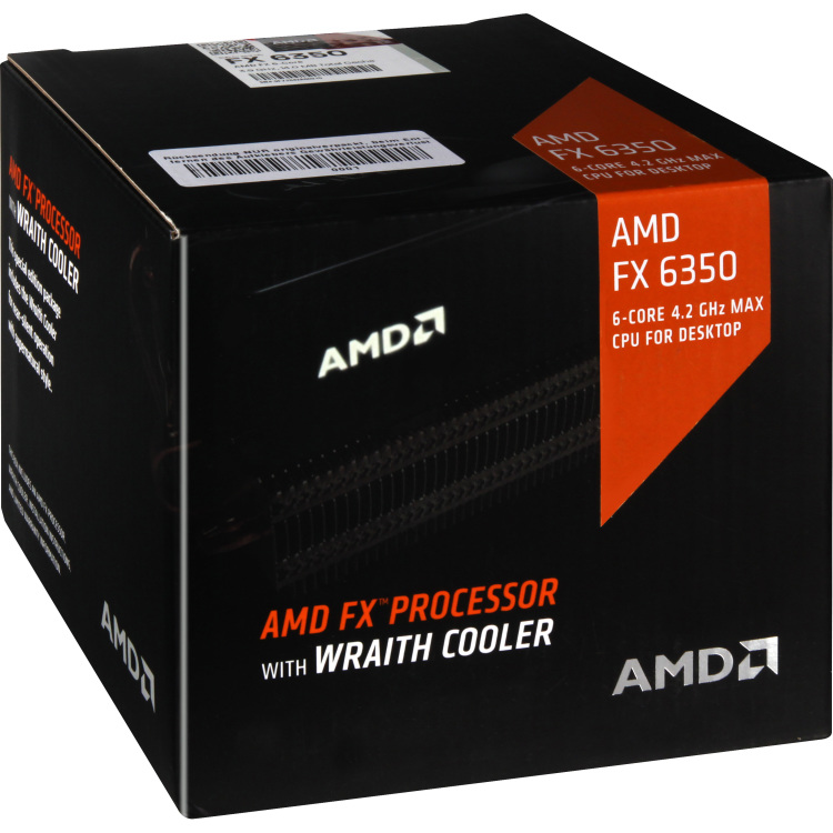 Image of AMD FX-6350 3.90GHz 8MB AM3+, Wraith koeler Box