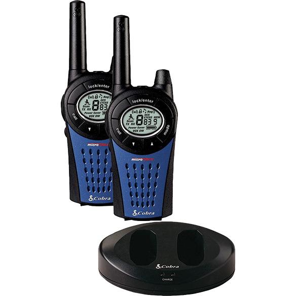 Image of Cobra MT975-2 VP, microtalk radio's, zwart