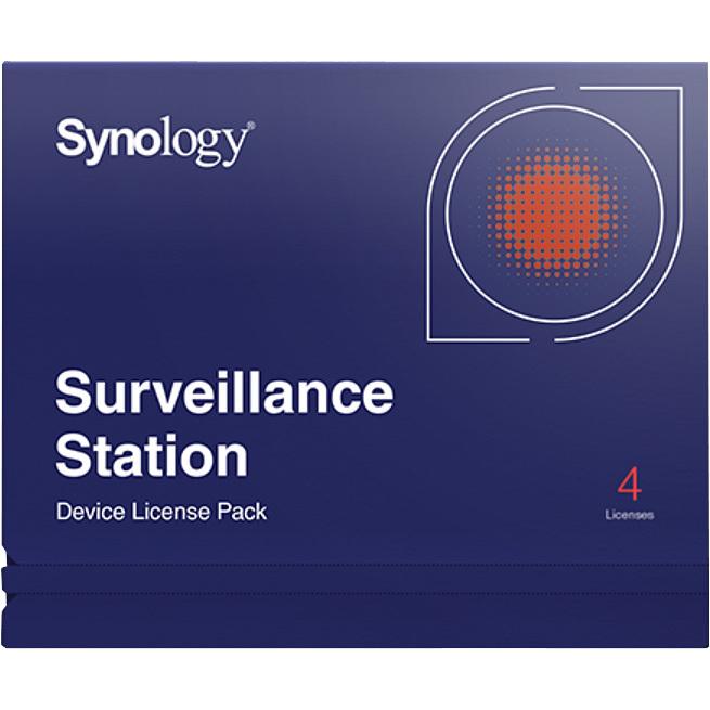 Synology Camera License Pack 4x Hard disk external