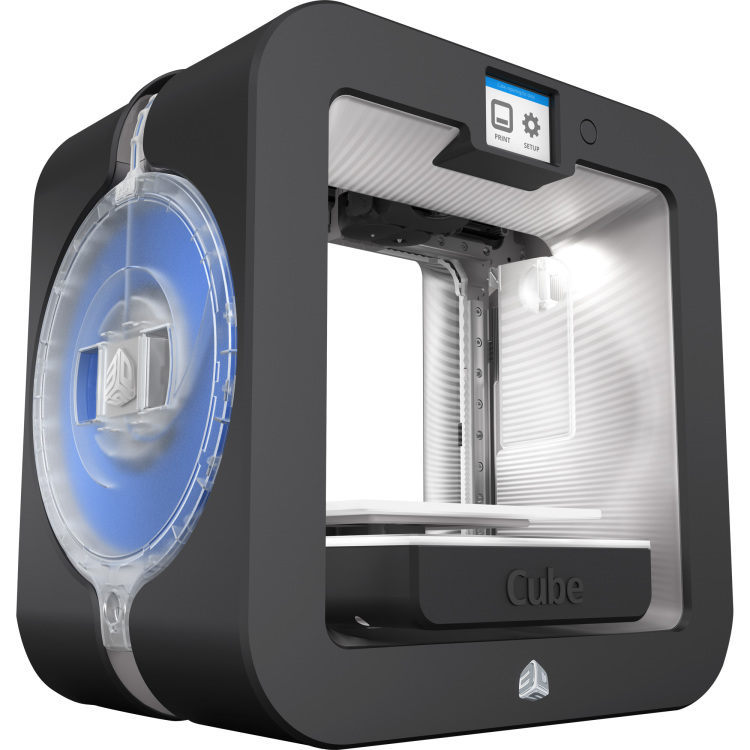 3D SYSTEMS Cube 3D Printer Gen3 Grey (391100)
