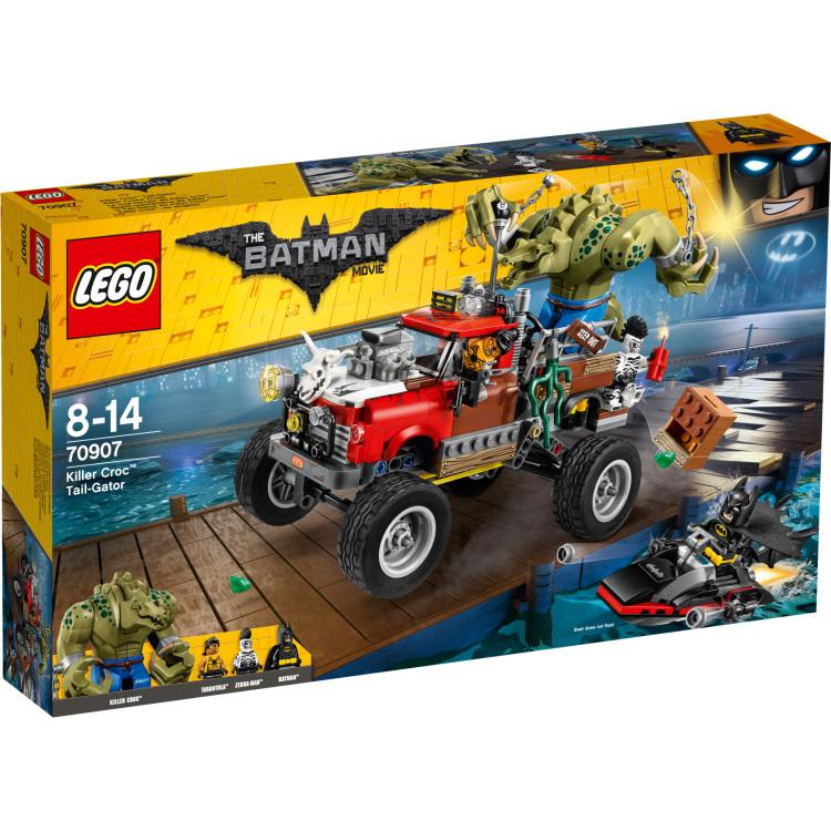 The Lego Batman Movie - Killer Croc Monstertruck