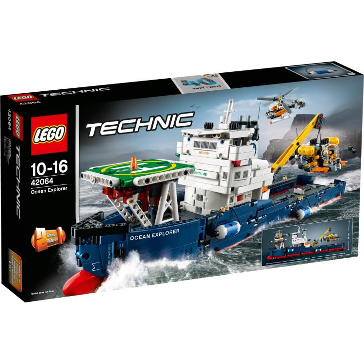 Oceaanonderzoeker Lego (42064)