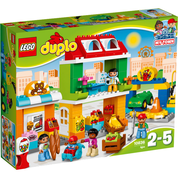 Stadsplein Lego Duplo (10836)