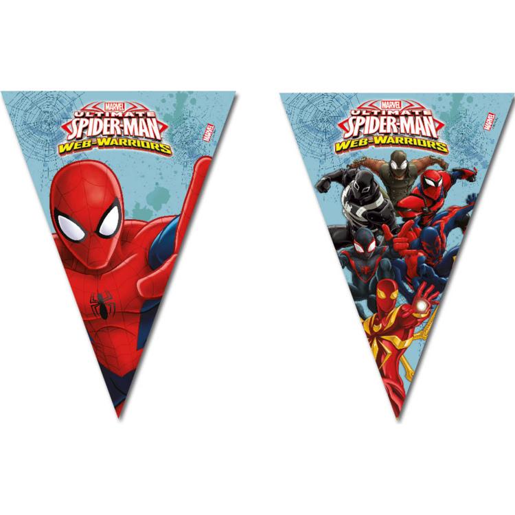 Vlaggenlijn Spiderman Warriors
