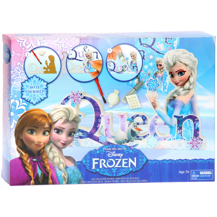 Image of Disney Frozen Design Your Own Words - Love