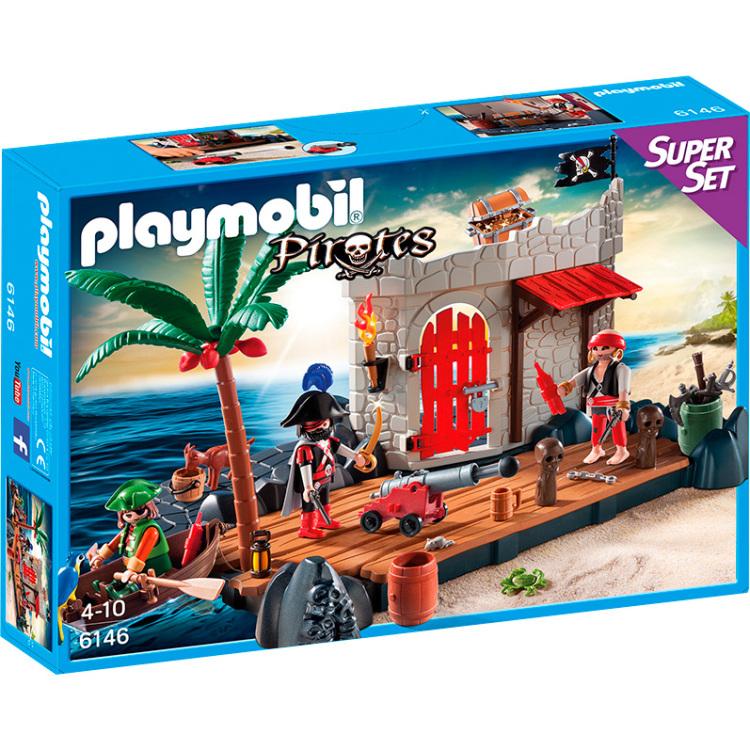 Playmobil piratenfort 6146