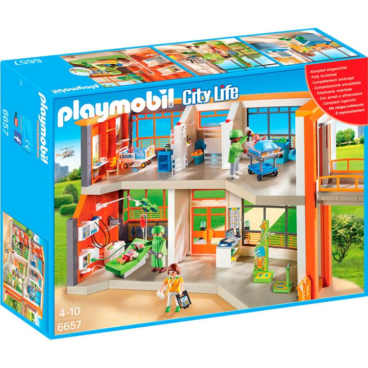 Playmobil City Life Kinderziekenhuis met inrichting 6657