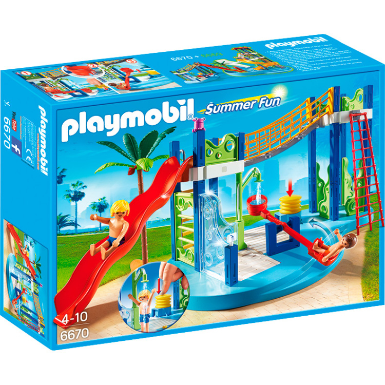 Playmobil Summer Fun waterspeeltuin 6670