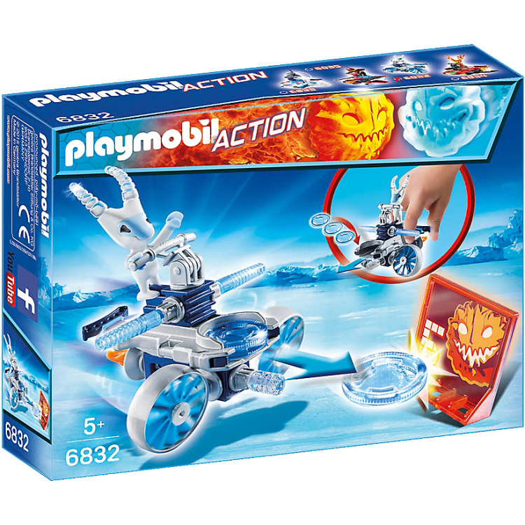 PLAYMOBIL Action Frosty met disc-shooter 6832
