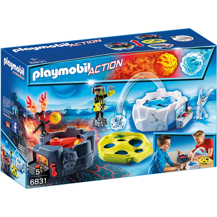 PLAYMOBIL Action actiespel Vuur & ijs 6831
