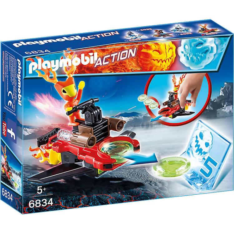 PLAYMOBIL Action Sparky met disc-shooter 6834