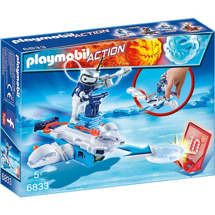 PLAYMOBIL Action Icebot met disc-shooter 6833