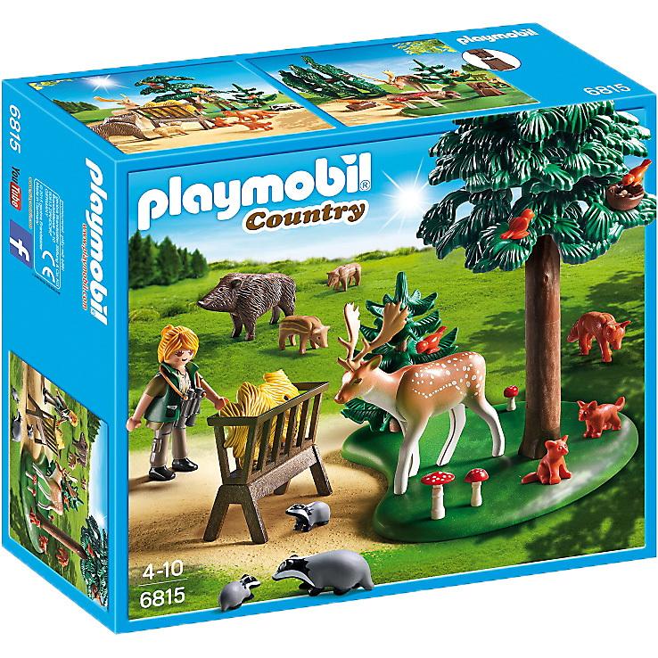 PLAYMOBIL Country voederplaats voor bosdieren 6815