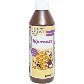 Hg Bijenwas Bruin 500ml