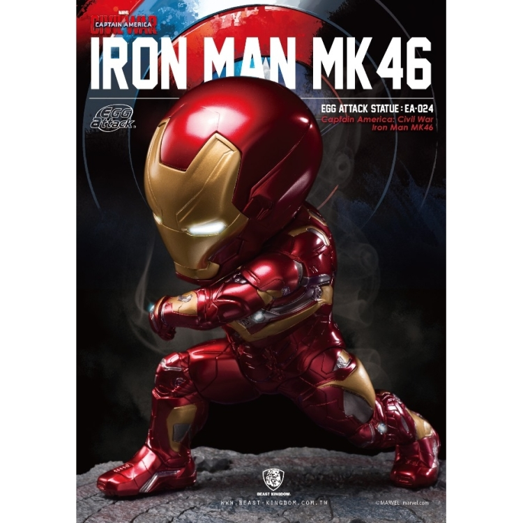 Image of Marvel Egg Attack: Civil War - Iron Man Statue