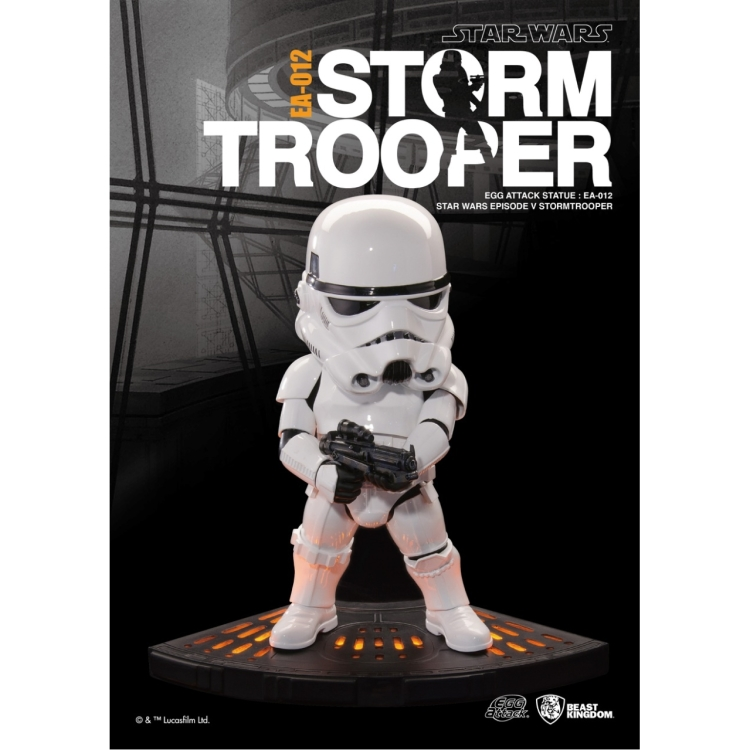 Image of Star Wars The Empire Strikes Back: Stormtrooper Egg Attack Statue