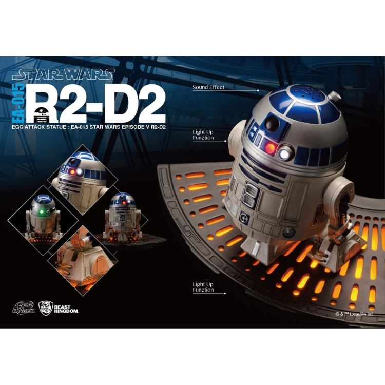 Image of Star Wars The Empire Strikes Back: R2-D2 Egg Attack Statue