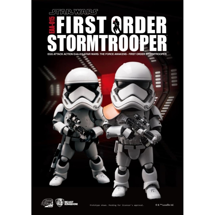 Image of Star Wars The Force Awakens: First Order Stormtrooper Egg Att. AF