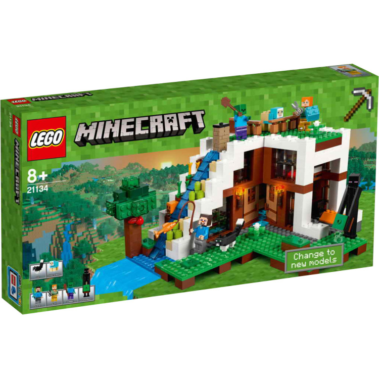 LegoMinecraft - De watervalbasis