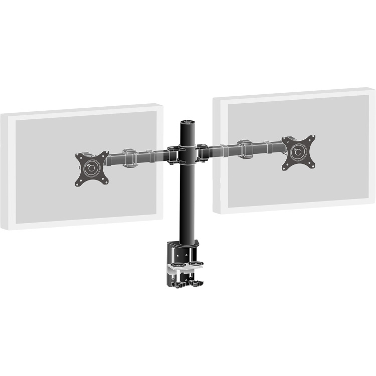 Productafbeelding voor 'Dubbele bureausteun arm DS1002C-B1'