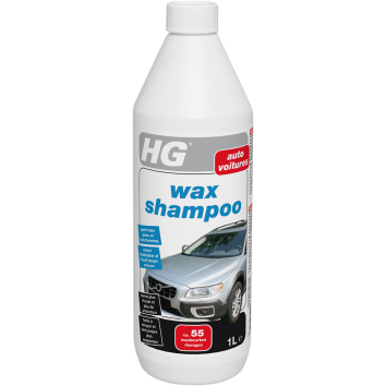 Hg Car Wax Shampoo 1liter