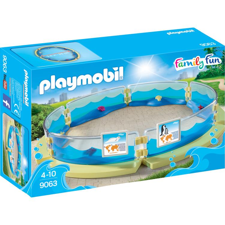 Bassin voor zeedieren Playmobil (9063)