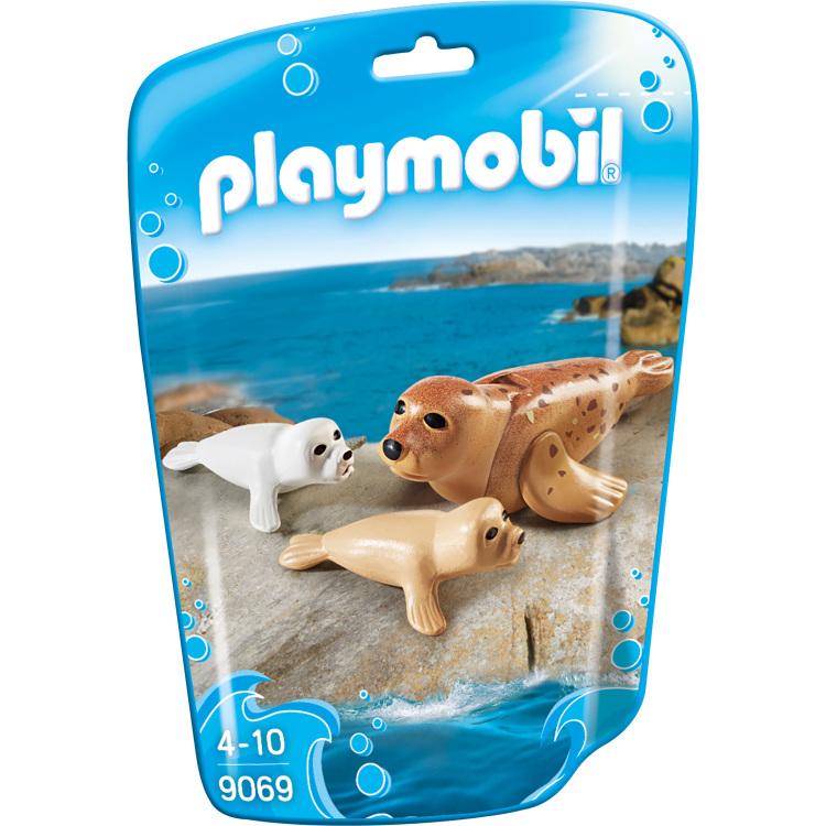 Family Fun - Zeehond met pups