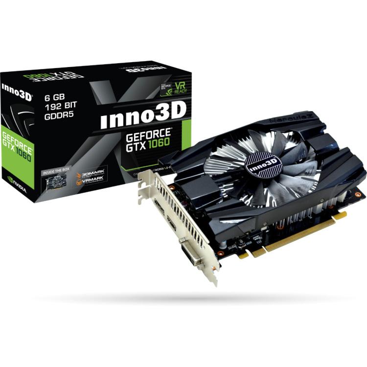 Productafbeelding voor 'GeForce GTX 1060 Compact'