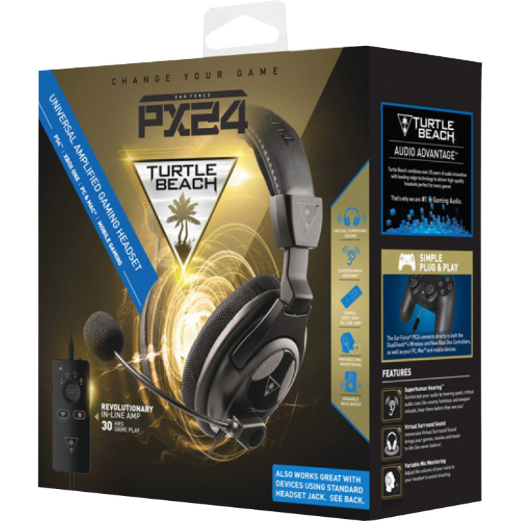 Earforce gaming headset PX24 (Turtle beach)