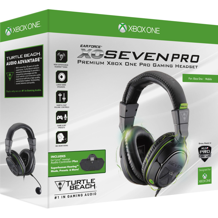 Turtle Beach Ear Force XO Seven Pro Gaming Headset