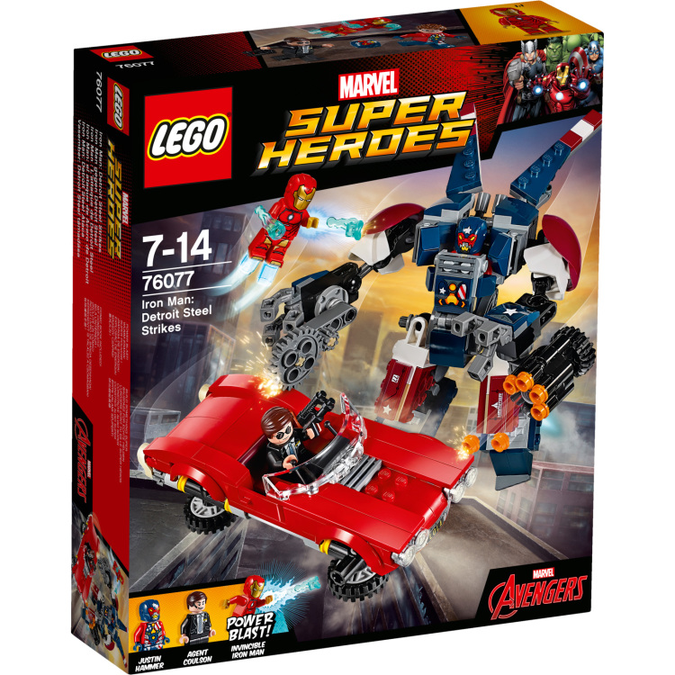 Iron Man: Detroit staalstrijd Lego (76077)