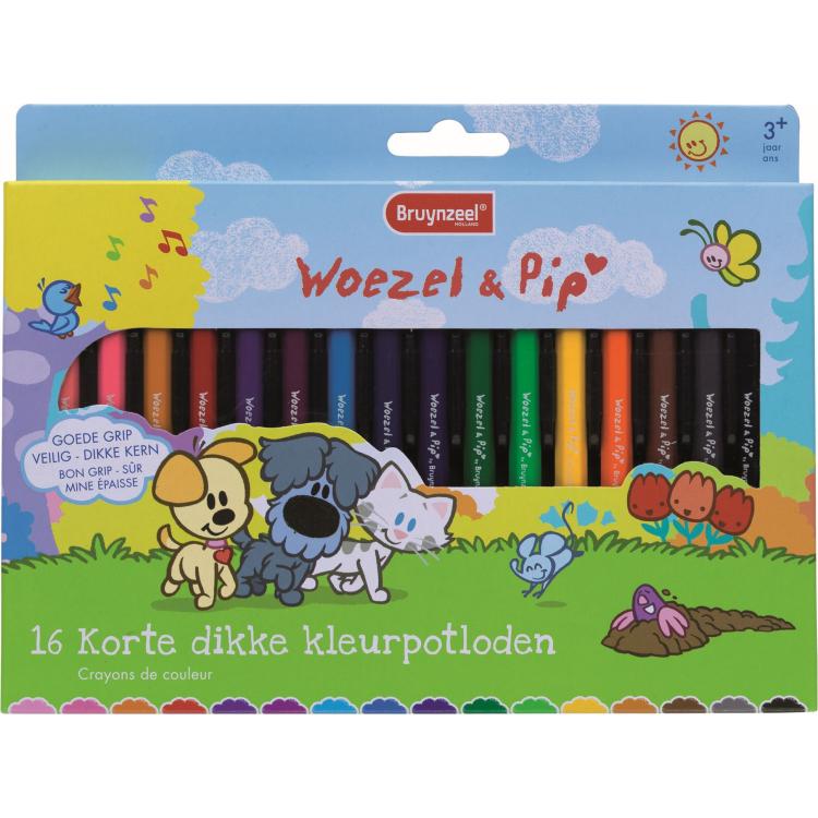 Image of Kleurpotloden Bruynzeel Woezel En P