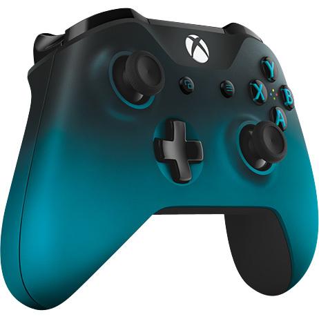 Microsoft Xbox One S Draadloze Controller Zwart-Blauw