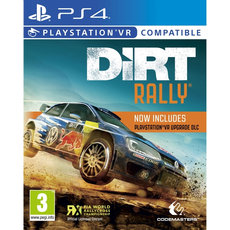 Image of Codemasters DiRT Rally PS4 (VR)