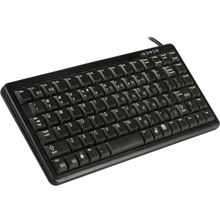 Cherry Compact keyboard, Combo (USB + PS-2), EU (G84-4100LCMEU-2)