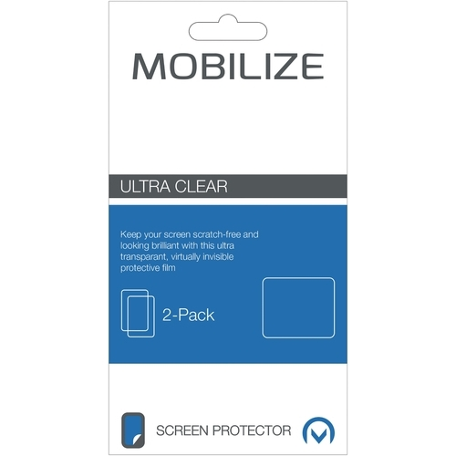 Mobilize Clear 2-pack Screen Protector Sony Xperia Z3 Compact Front and Back pack